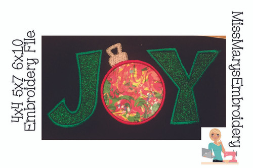 Joy Applique