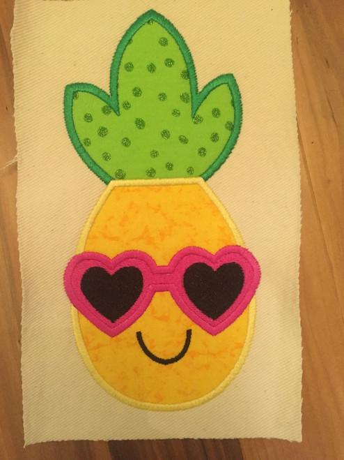 Applique Pineapple Sunglasses