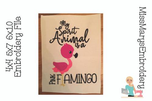 Pink Flamingo Spirit Animal