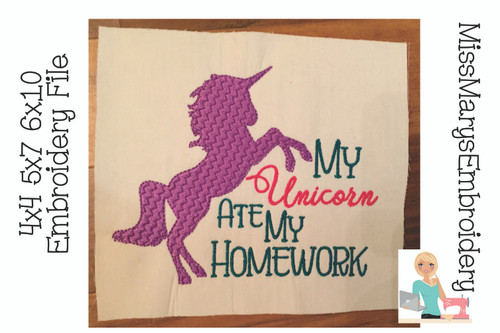 Unicorn ate my Homework