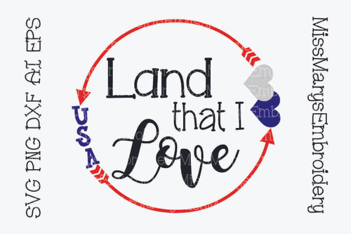 Land I Love SVG