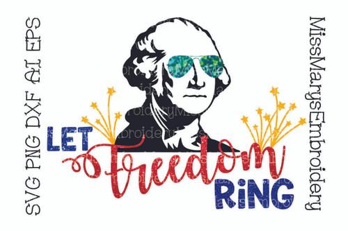George Washington Freedom Ring