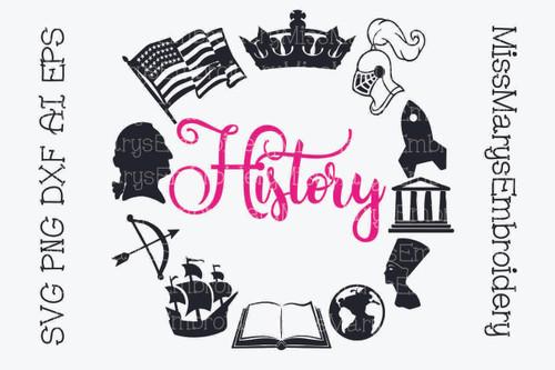 History Subject Frame