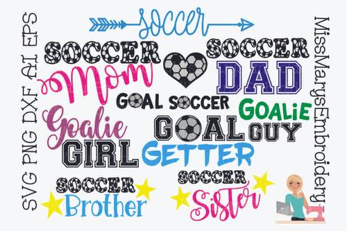 Soccer Saying Bundle