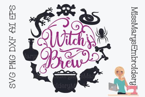 Witch's Brew Frame