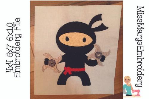 Ninja Embroidery