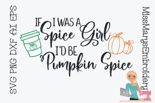 Pumpkin Spice Girl