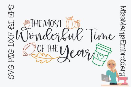 Most Wonderful Time Fall