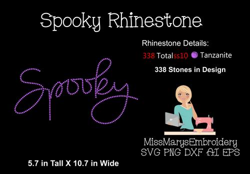 Spooky Rhinestone