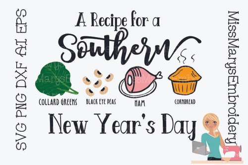 A Recipe for a Southern New Year's Day