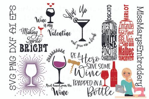 Wine Bottle Bundle