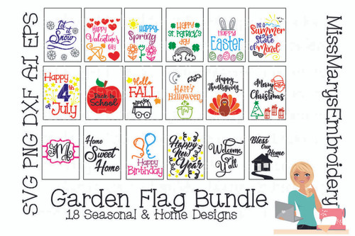 Garden Flag Bundle