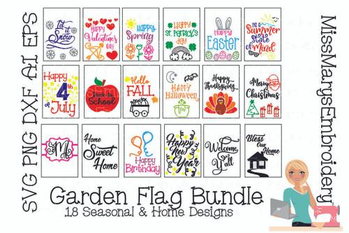 Garden Flag Bundle