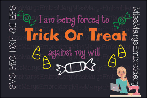 Forced To Trick Or Treat