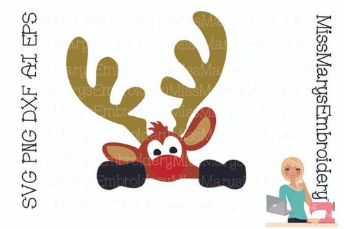 Peaking Reindeer