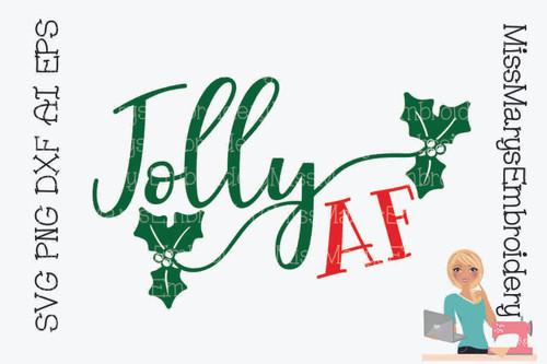 Jolly AF SVG