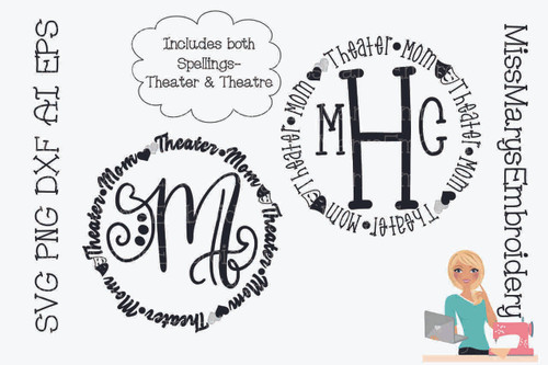 Theater Mom Monogram