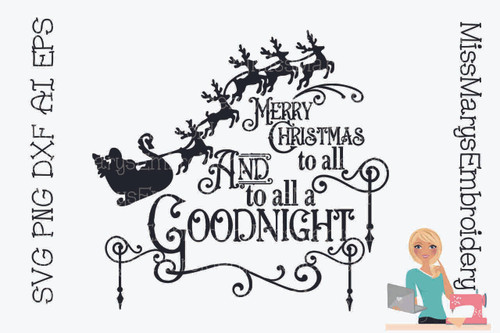 Merry Christmas to All  & to All a Goodnight