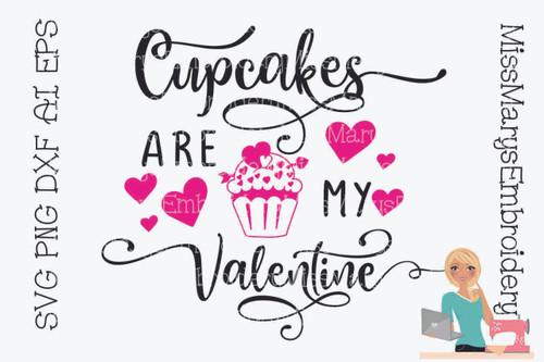 Cupcakes are my Valentine 2