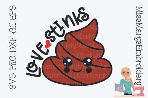 Love Stinks SVG