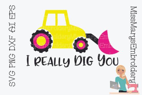 I Dig You SVG