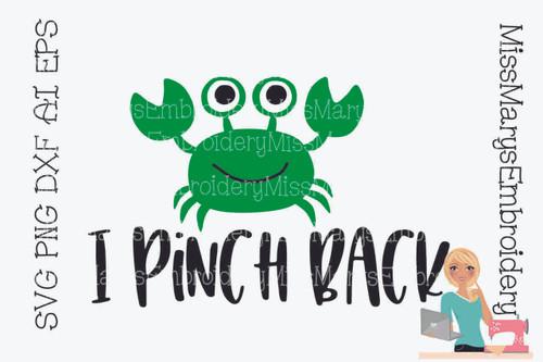 I Pinch Back SVG