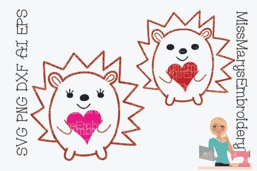 Heart Hedgehogs