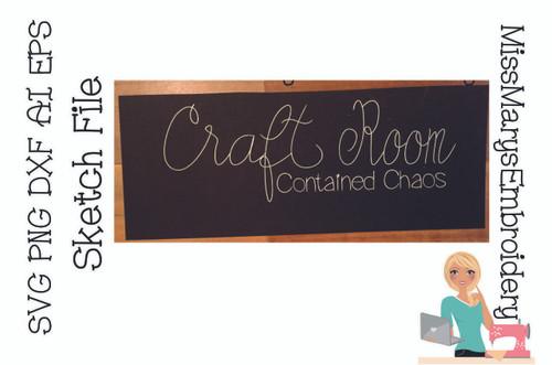Craft Room Sketch