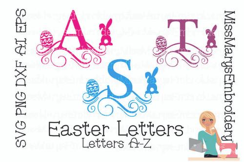 Easter Letters SVG