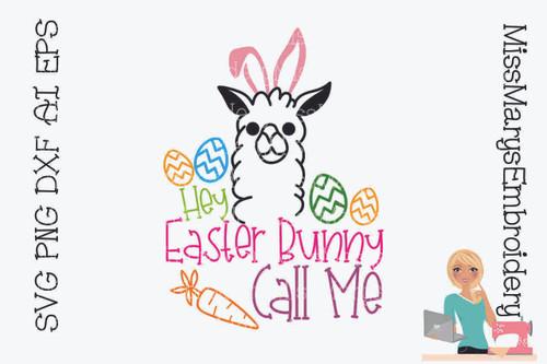 Easter Llama
