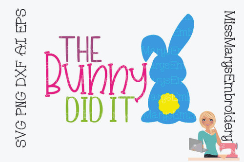 The Bunny Did It
