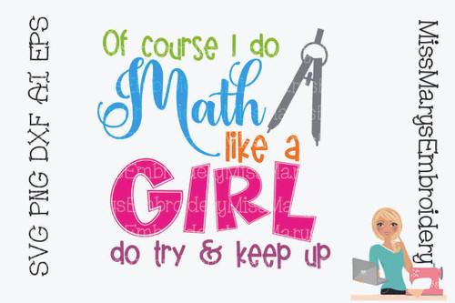 Do Math Like A Girl