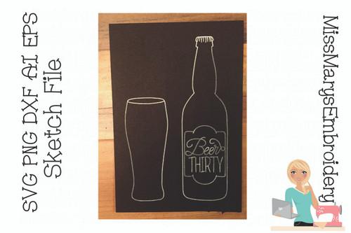 Beer Thirty Sketch File