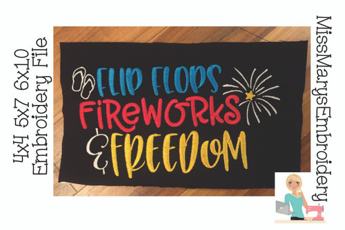 Flip Flops, Fireworks and Freedom