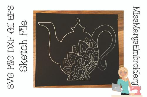 Sketch Tea Pot