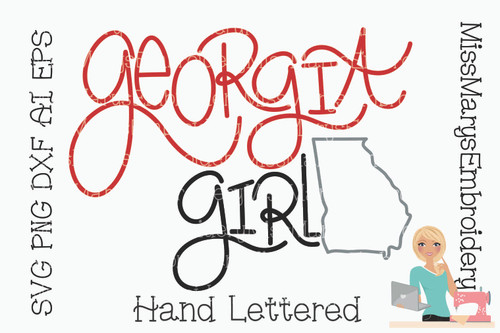 Georgia Girl SVG