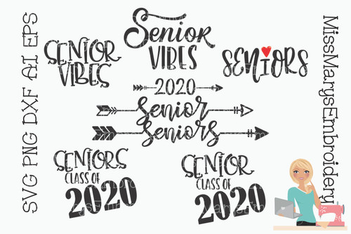 Senior Saying Bundle 2020