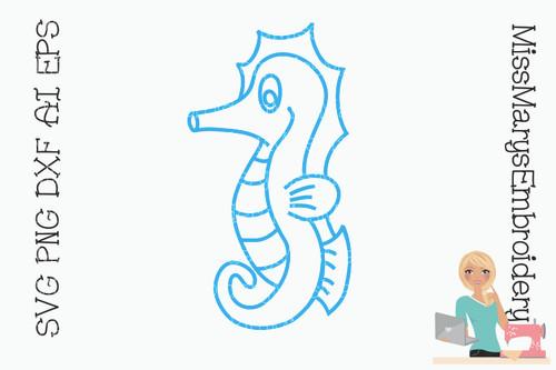 Seahorse SVG