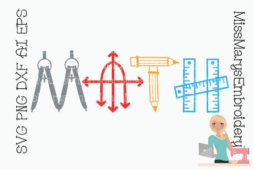 Math Symbol Title