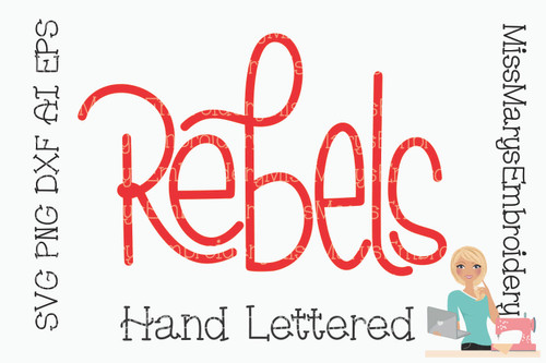 Hand Lettered Rebels
