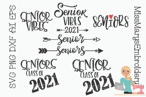 Senior Saying Bundle 2021