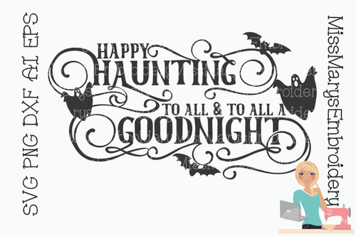 Happy Haunting SVG