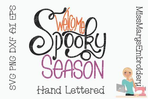 Welcome Spooky Season