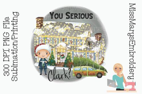 You Serious Clark? PNG