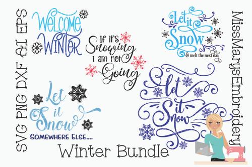 Winter Bundle SVG