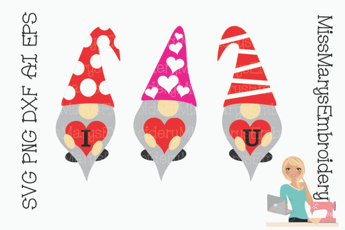 I Love U Gnomes