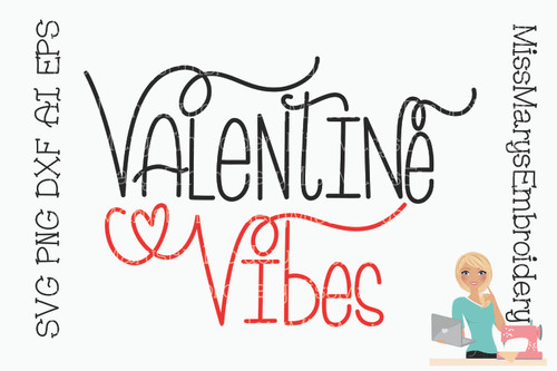 Valentine Vibes SVG 2