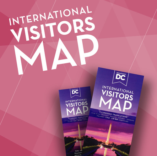This product is the Offical International Visitors Map.