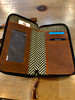 Leather utility mobile wallet