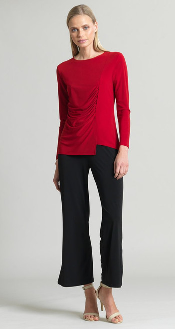 Ruched Jersey Knit Top